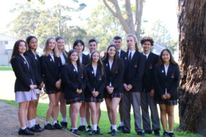 Year 12 2020 Prefects