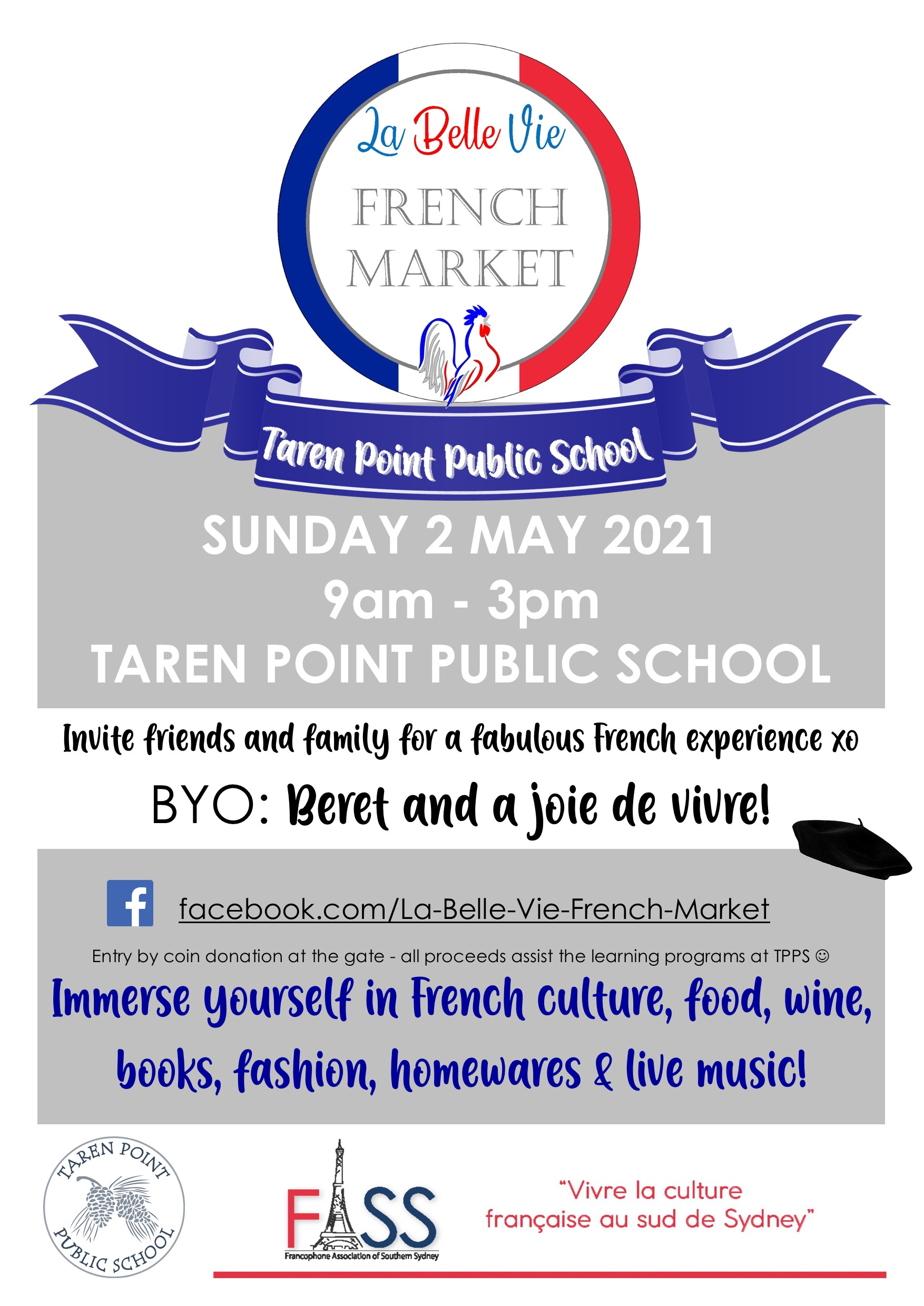 French Market at Taren Point Public School
